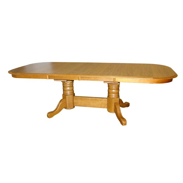 Hollister Extendable Dining Table by Alcott Hill Alcott Hill