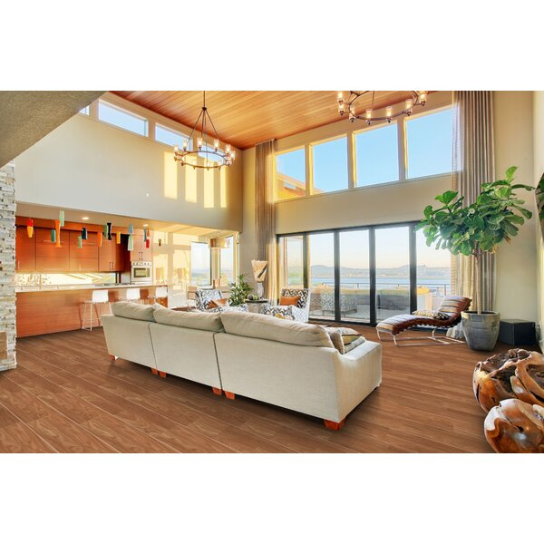 Stone Harbor 8 x 51 x 8mm Laminate Flooring in Davenport Hickory by American Concepts