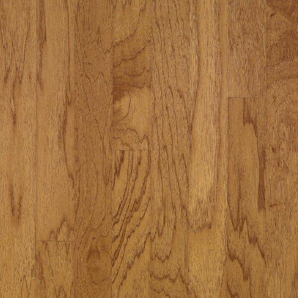 Turlington 3 Engineered Hickory Hardwood Flooring in Smoky Topaz by Bruce Flooring