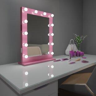 Read Reviews Tarek Vanity Makeup/Shaving Mirror ByEverly Quinn