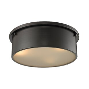 Great choice Simpson 3-Light Flush Mount By Elk Lighting