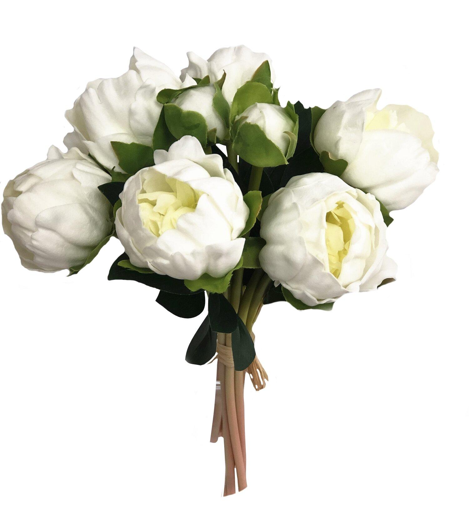 Blush Arrangements Faux Flowers You Ll Love In 2020 Wayfair
