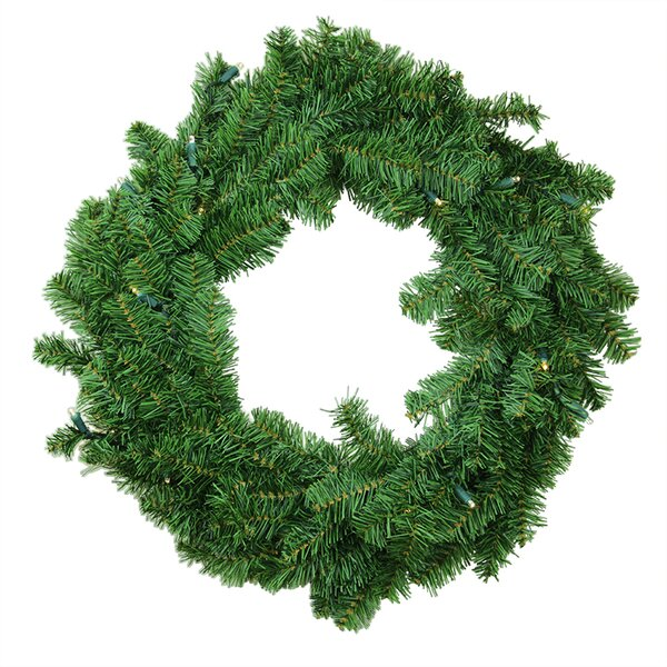 Pre-Lit Battery Operated Canadian Pine Artificial Christmas Garland by Darice