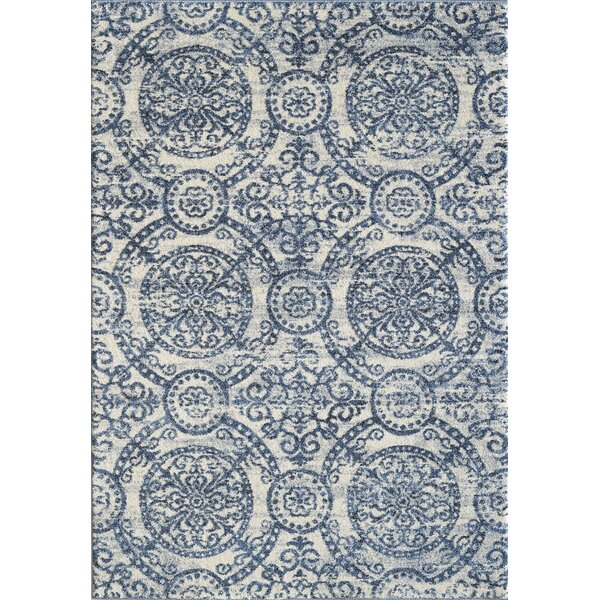 Pascua Blue Area Rug by Winston Porter