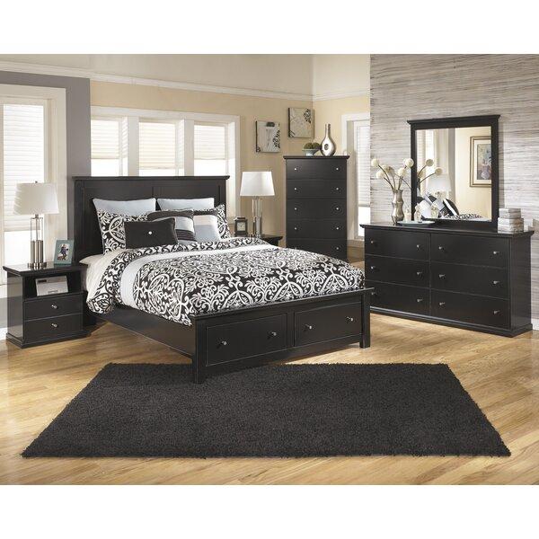 Beaumont Queen Platform Configurable Bedroom Set by Three Posts