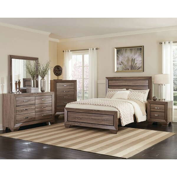 Gussie Panel Standard Configurable Bedroom Set by Darby Home Co