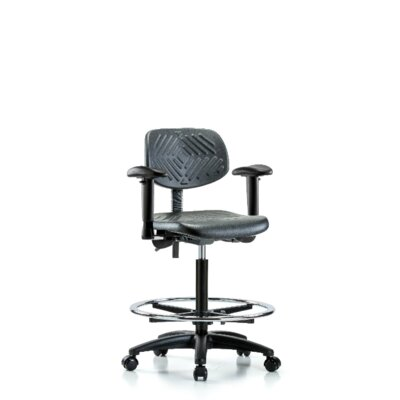 Drafting Chair Blue Ridge Ergonomics Casters/Glides: Casters, Tilt Function: Included
