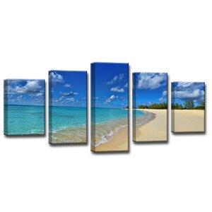 'Hidden Utopia' by Christopher Doherty 5 Piece Framed Photographic Print Set by Ready2hangart