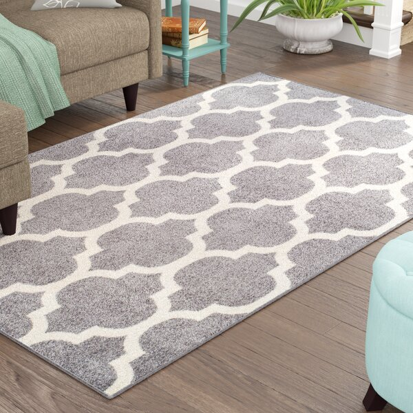Cyril Wool Gray Indoor Area Rug by Charlton Home
