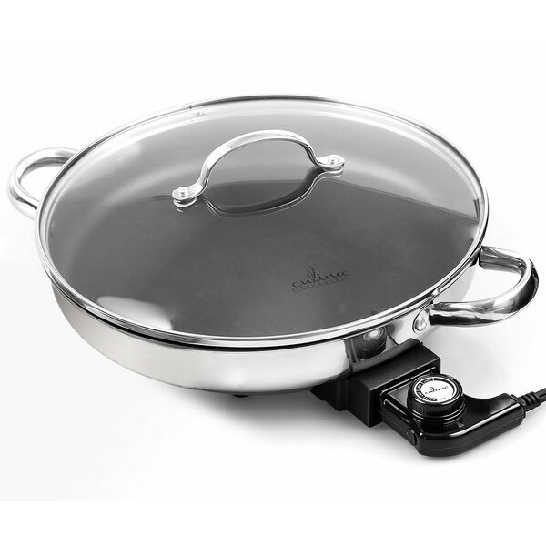 Culina 12 Non-Stick Skillet with Lid by CUL Distributors