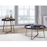 Florenza 2 Piece Coffee Table Set by Wrought Studio™