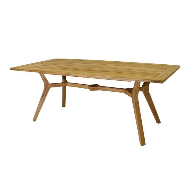 Nautical Teak Dining Table by Bay Isle Home