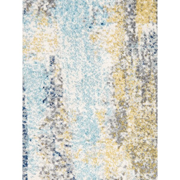 Chelsea Power Loom Blue/Gray Area Rug by Pasargad