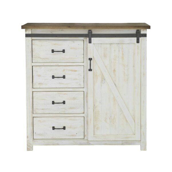 Coonrod 4 Drawer Combo Dresser by Gracie Oaks
