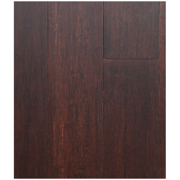 4-3/4 Solid Strand Woven Bamboo  Flooring in Chestnut by Easoon USA