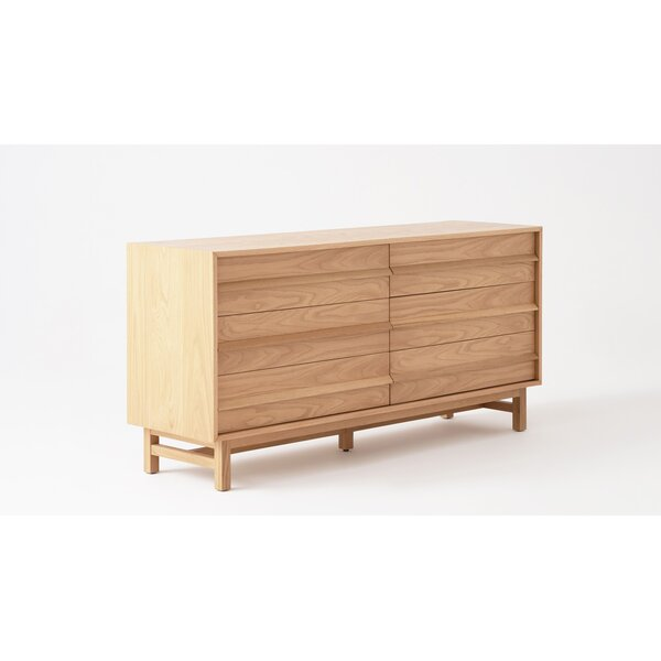 Marcel 6 Drawer Double Dresser by EQ3