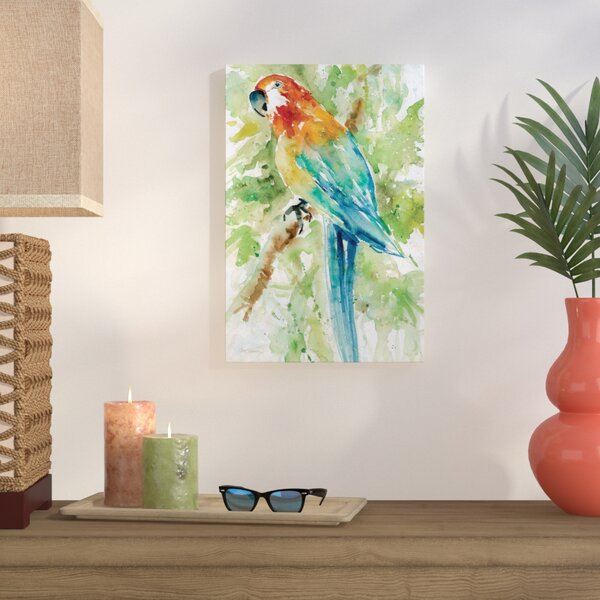 Island Beauty II Graphic Art on Wrapped Canvas by Bay Isle Home