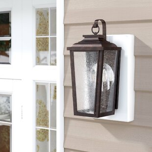 Best Reviews Mayhugh 2-Light Outdoor Wall Lantern By Three Posts