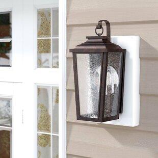 Great Price Mayhugh 2-Light Outdoor Wall Lantern By Three Posts