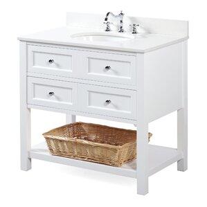New Yorker 36  Single Bathroom Vanity SetShop 10 029 Bathroom Vanities   Wayfair. 36 Bathroom Vanity With Sink. Home Design Ideas