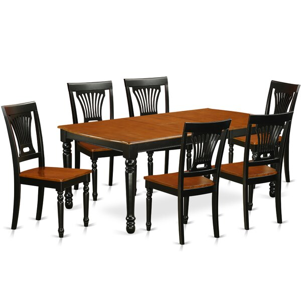 #2 Pimentel 7 Piece Solid Wood Dining Set By August Grove Cool