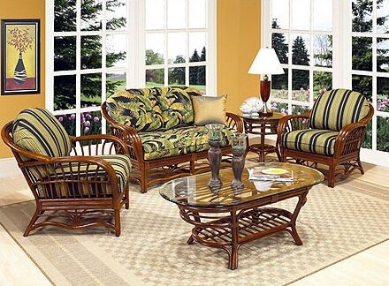 Amarillo Coffee Table by Boca Rattan