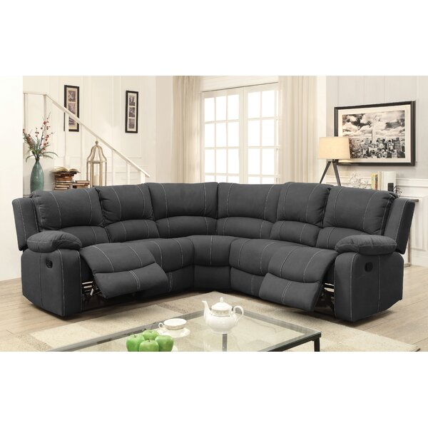 Kimble Symmetrical Reclining Sectional By Winston Porter