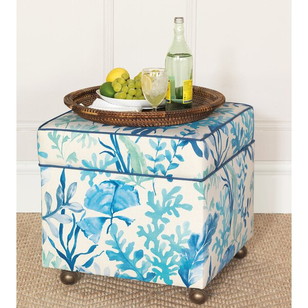 Olympia Azure Storage Ottoman by Eastern Accents Eastern Accents