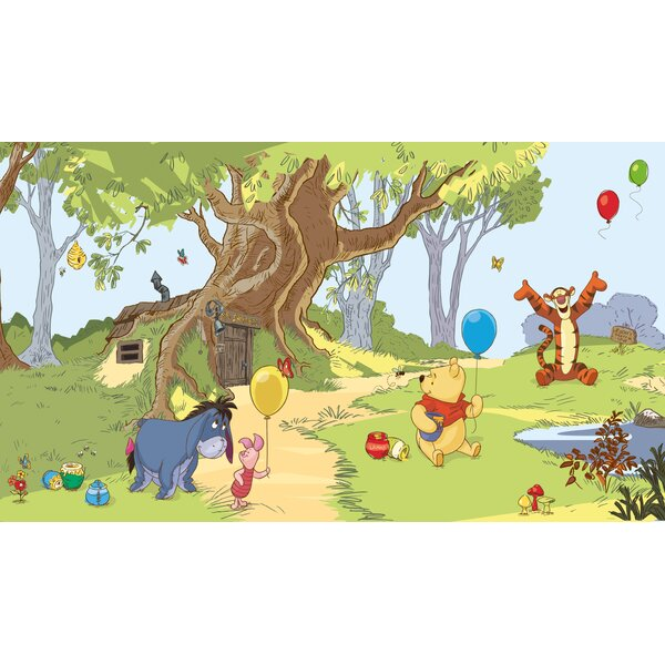 Walt Disney Kids II Pooh and Friends Wall Mural by York Wallcoverings