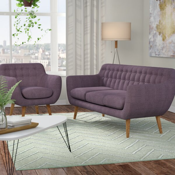 Martinique 2 Piece Living Room Set by Langley Street
