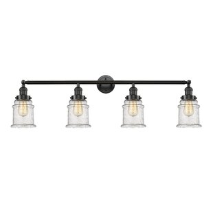 Coupon Greeley 4-Light Vanity Light By Laurel Foundry Modern Farmhouse