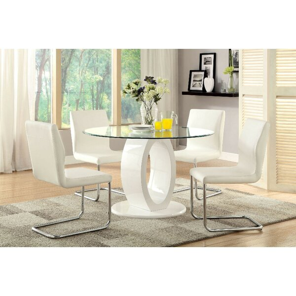 Waller 5 Piece Dining Set by Orren Ellis