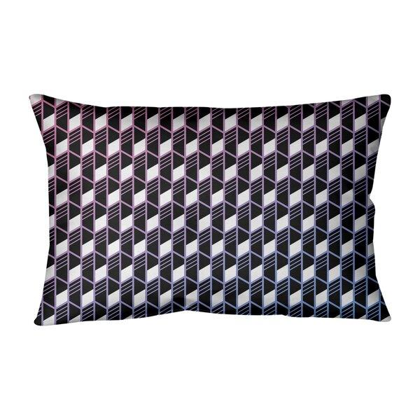 Avicia Indoor/Outdoor Geometric Lumbar Pillow