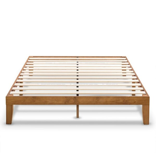 Harlow Solid Wood Platform Bed Frame with Classic Wooden Slat by Red Barrel Studio