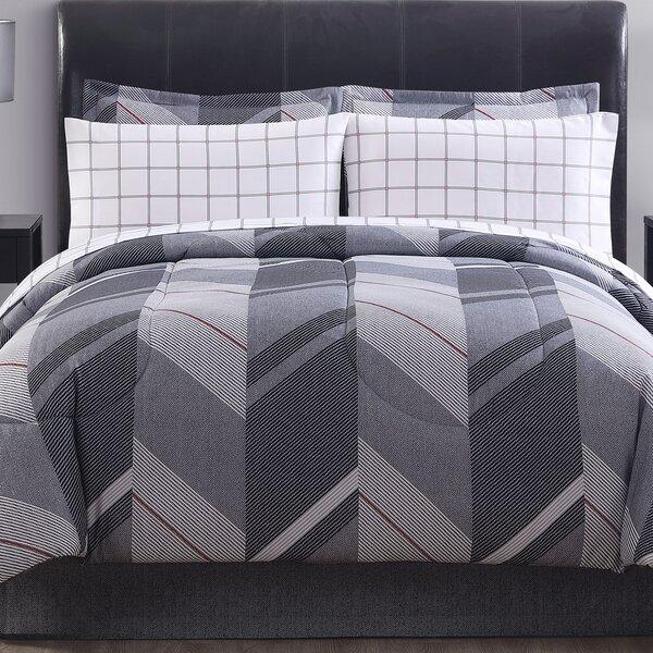 Reid Reversible Comforter Set by Ellison First Asia