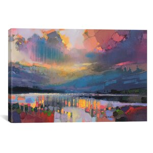 Lomond Light by Scott Naismith Painting Print on Wrapped Canvas by Brayden Studio