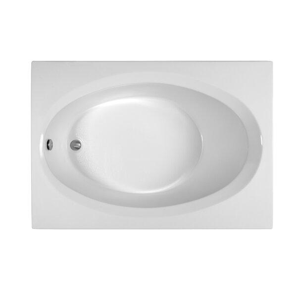 Reliance 59.75 x 41.5 Soaking Bathtub by Reliance