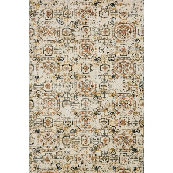 Ivory/Taupe Area Rug by Birch Lane™