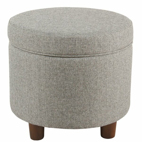 Yarmouth Round Storage Ottoman by Zipcode Design