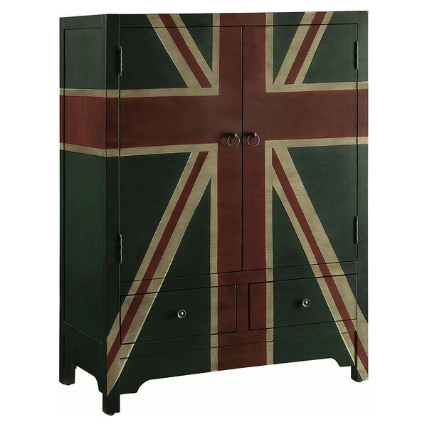 Pogue Wine 2 Drawer Accent Cabinet by Brayden Studio
