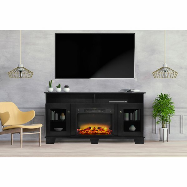 Review Ackermanville TV Stand For TVs Up To 60