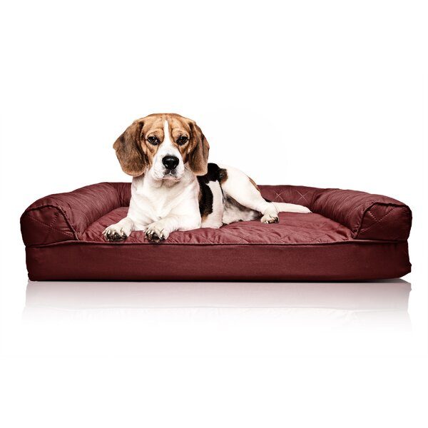 Bernice Quilted Orthopedic Sofa-Style Dog Bed by Archie & Oscar