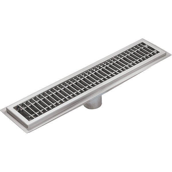 Floor Water Receptacle Grid Shower Drain by IMC Teddy