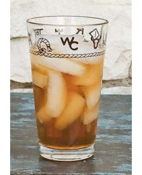 Elettra 20 oz. Juice Glass (Set of 4) by Loon Peak