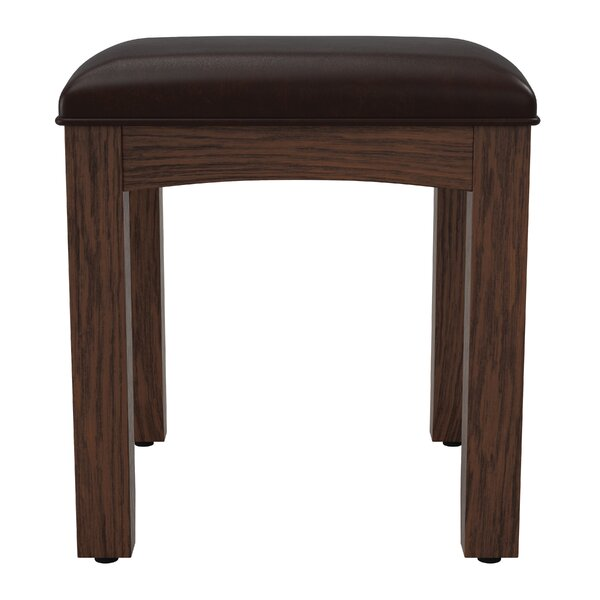 Moradian Modern Vanity stool by August Grove