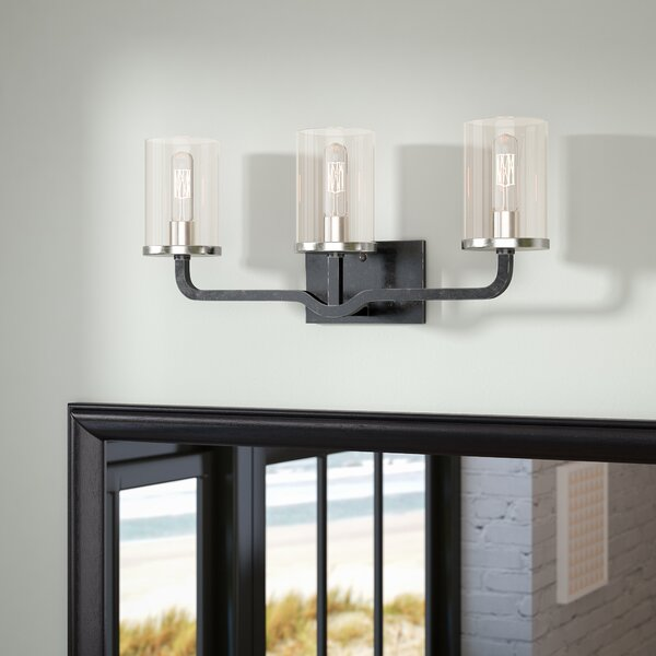 Custodio 3-Light Vanity Light by Mercury Row
