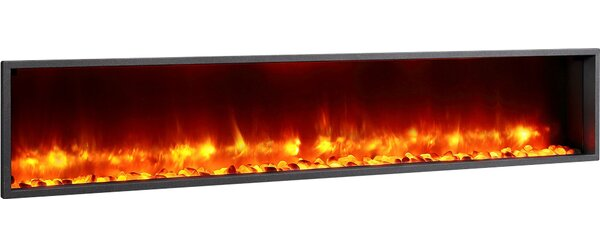 LED Wall Mounted Electric Fireplace by Dynasty Fir