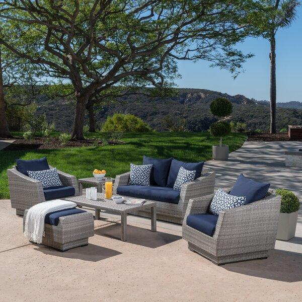 Castelli 6 Piece Sofa Set with Cushions by Wade Logan