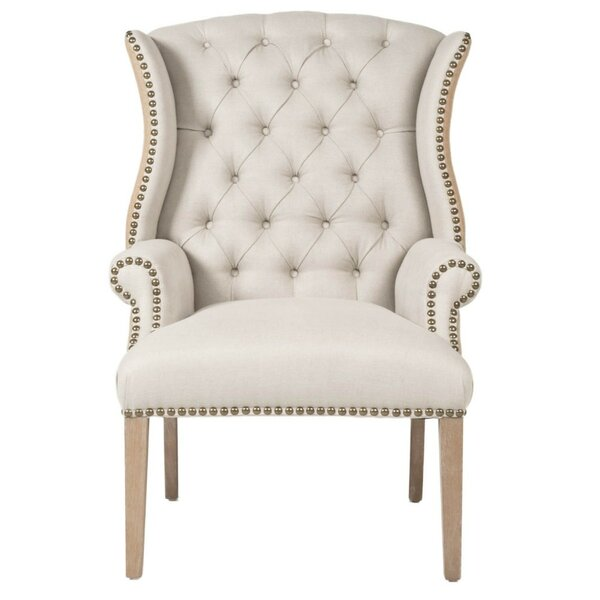 Marley Wingback Chair by One Allium Way