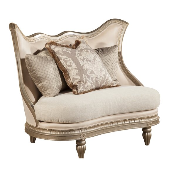Review Amore Curved Loveseat